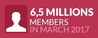 4 million members in July 2014